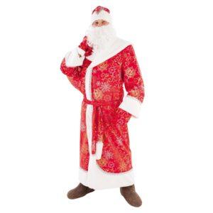 Костюм Дед Мороз взр.